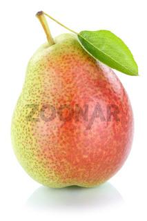 Birne Frucht frisch Obst Freisteller freigestellt isoliert