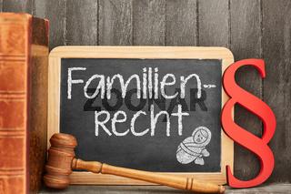 Fachanwalt für Familienrecht Konzept