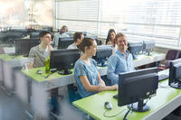 Computerkurs an der Universität