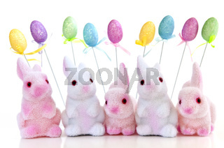 Easter bunny toys