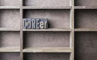 Wooden Letter Career