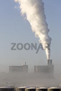 Kohlekraftwerk Moorburg, Hamburg, Deutschland, Europa