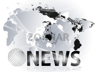 Presentation of news