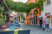 Ruedesheim in the Rhine-Valley