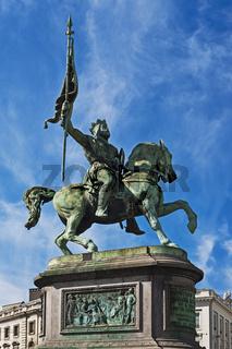 Gottfried von Bouillon, Brüssel | Godfrey of Bouillon, Brussels