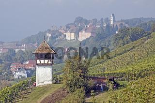 Rebwächterturm  bei Meersburg am Bodensee