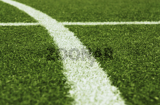 Fußballplatz Rasenkreise 6