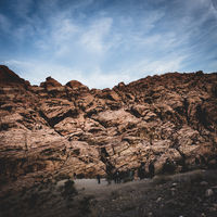 The Red Rock Canyon close to Las Vegas, Nevada