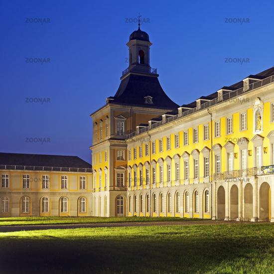 Electoral Palace, the main building of the university, Bonn, North Rhine-Westphalia, Germany, Europe