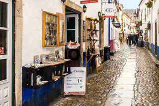 Shopping Outlets Obidos Town Portugal