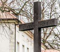 Cross to commemorate the dead of the First World War