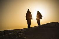 desert woman sun