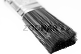 Pinsel Borsten schwarz weiss (1)