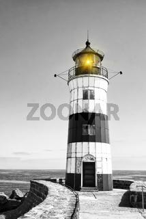 Leuchtturm Schleimünde an der Ostsee