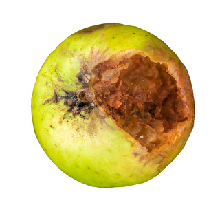 Rotten Green Apple