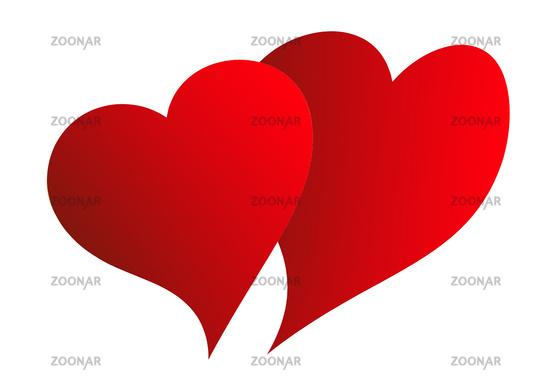 valentine's day, dubble heart
