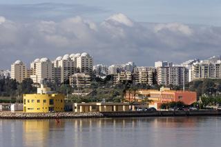 Stadtansicht von Portimao