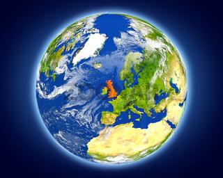 United Kingdom on planet Earth