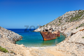 Olympia shipwreck of Amorgos, Greece