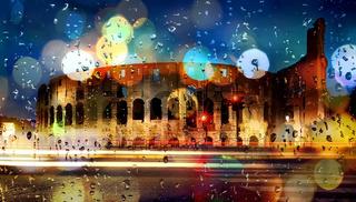 Boke colosseum Italy