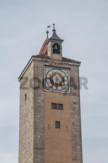 Historischer Turm in Rothenburg ob der Tauber