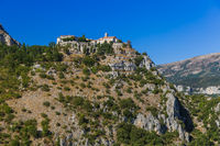 Town Gourdon in Provence France