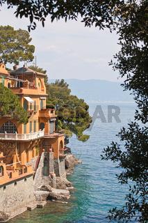 Villa bei Portofino