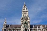 Turm des Münchner Rathauses