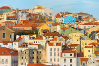Beautiful Lisbon Old Town, Portugal