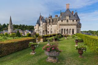 Langeais castle in the Loire Valley - France