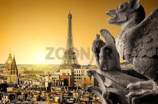 Chimeras and Eiffel Tower