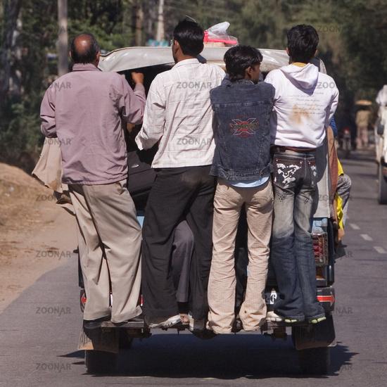 indian Taxi, North India, India, Asia