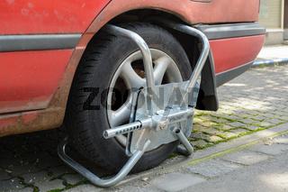 Radkralle - Diebstahlschutz oder Mittel gegen Verkehrssünder