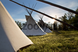 First Nation Teepee