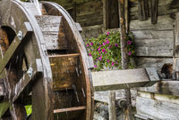 Thuringer Hutte Water Wheel