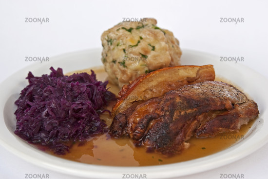 Bayrischer Schweinebraten / bavarian pork roast