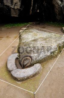 Opferstein Kondor Machu Picchu Peru