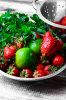 Aroma of summer fruits