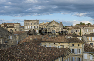 View on Centre Houses Saint-Emilion