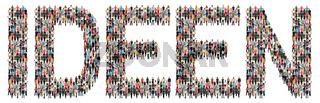 Ideen Idee Kreativität kreativ Erfolg Wachstum Leute Menschen People Gruppe Menschengruppe