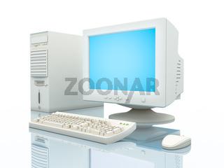 Computer close-up