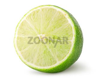 Half of lime rotated