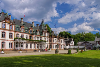 Strassburg Chateau de Pourtales