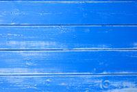 Blue Vingtage Wooden Background, Copy Space