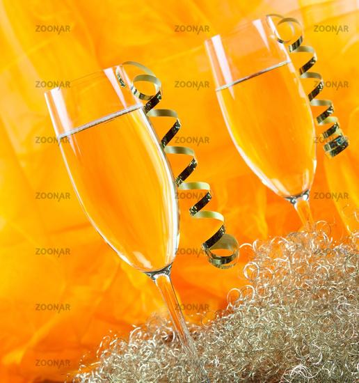 Silvestersekt/ new years champagne