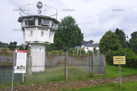 German Country Border Museum in Mödlareuth,Germany