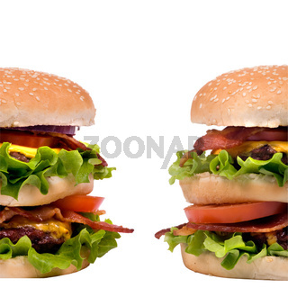 Hamburger Series (Twin Burgers)
