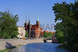 Breslau Dominsel - Breslau the cathedral island