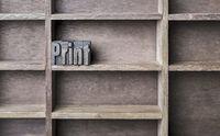 Wooden Letter Print