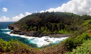 Bucht am Kilauea Point